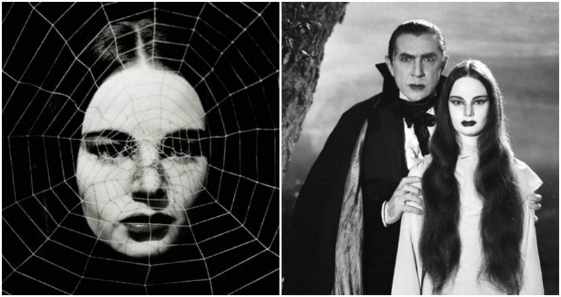 Gothtastic pics of the alluring Carroll Borland as Dracula's daughter in 'Mark of the Vampire'
