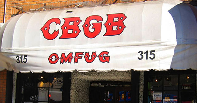 CBGB's awning being auctioned by Sotheby's is expected to fetch at least $25,000