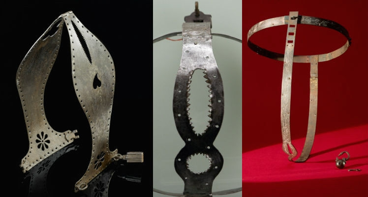 Most historical chastity belts were probably created as naughty novelty items