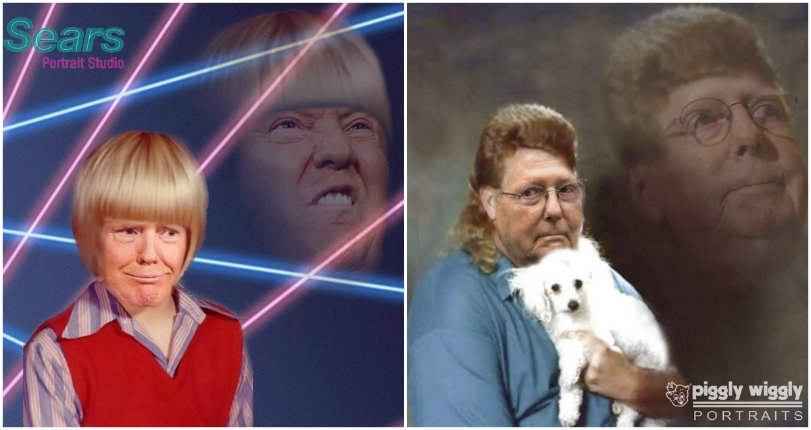 Hilarious photoshopped images of Trump & his 'best people'