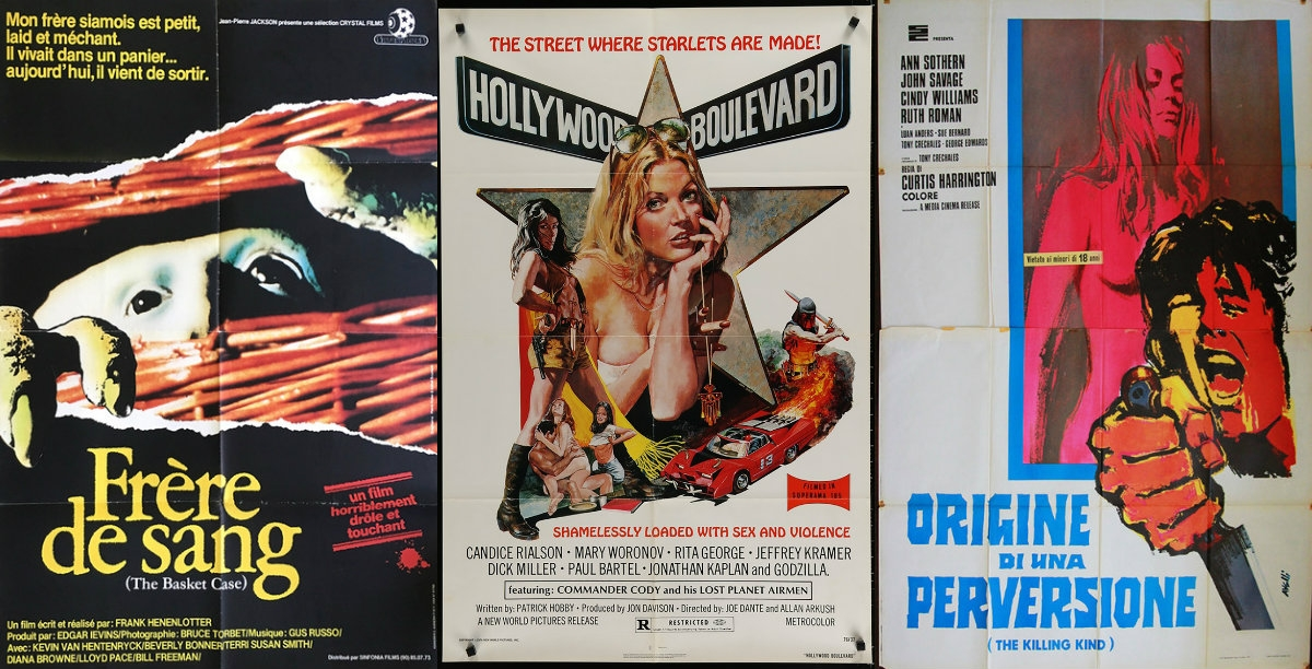 Program your own grindhouse film festival with these sleazy cult favorites!