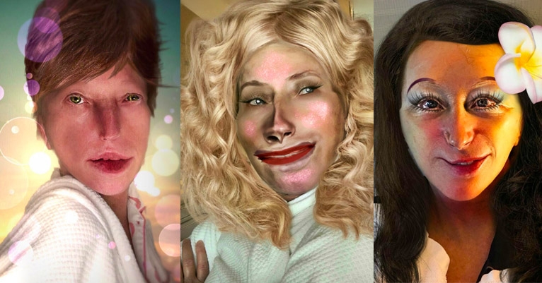 Cindy Sherman's newly public Instagram feed is full of amazingly creepy new work