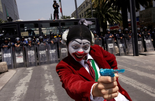 Send in the clowns: The Clandestine Insurgent Rebel Clown Army wants you!