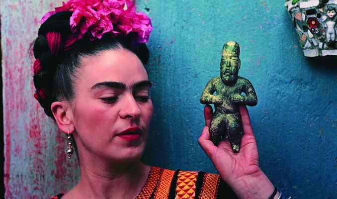 Rare, intimate photographs of Frida Kahlo in love, in pain and with her pets