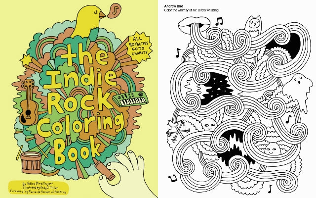The Indie Rock Coloring Book | Dangerous Minds