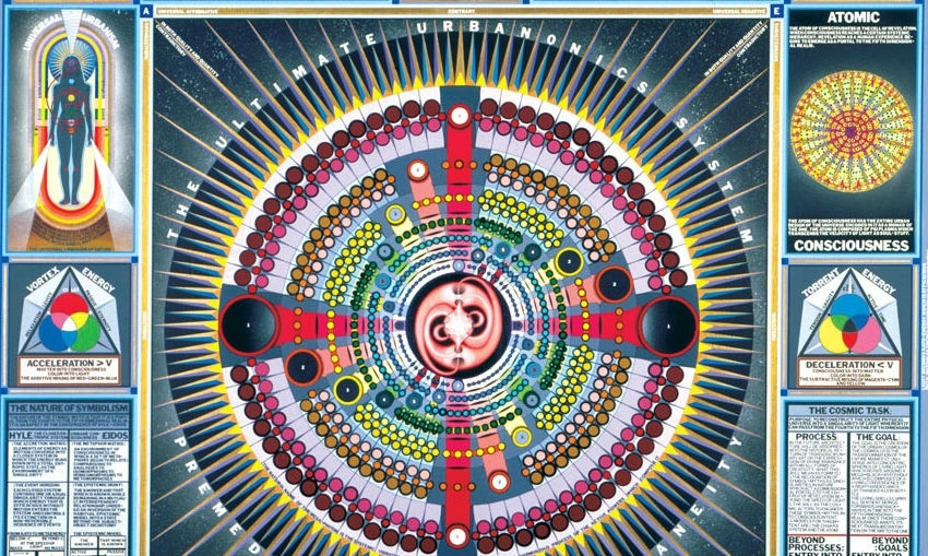 Visionary artist and genius Paul Laffoley has died
