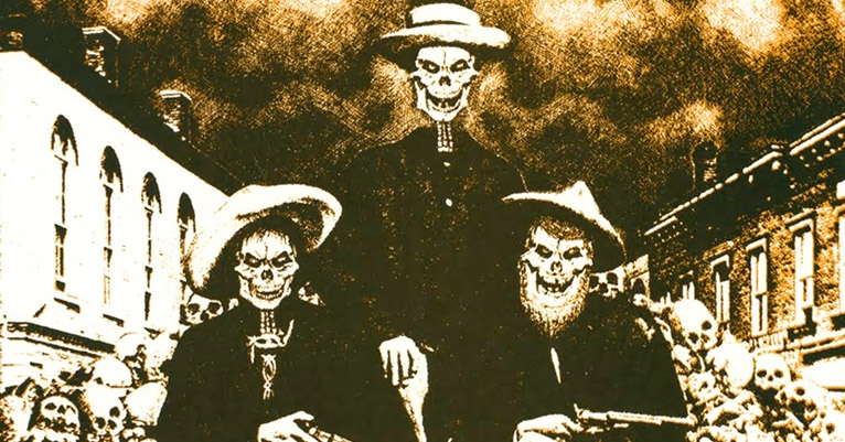 The twisted cowboy death-rock of Country Bob and the BloodFarmers
