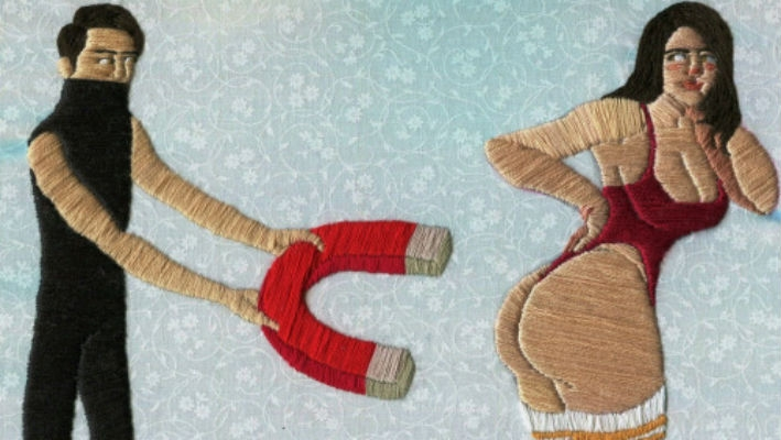 The art of chronic 'Craftsturbastion': Erotic embroidery