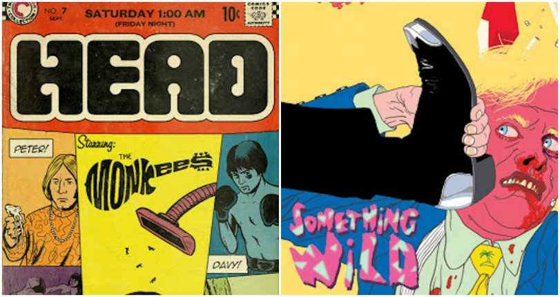 Comics-inspired Criterion movie posters by Daniel Clowes, R. Crumb, Ralph Steadman & more