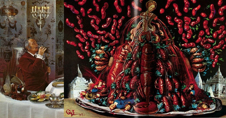 At last, Salvador Dali's insane sex-cookbook is getting republished