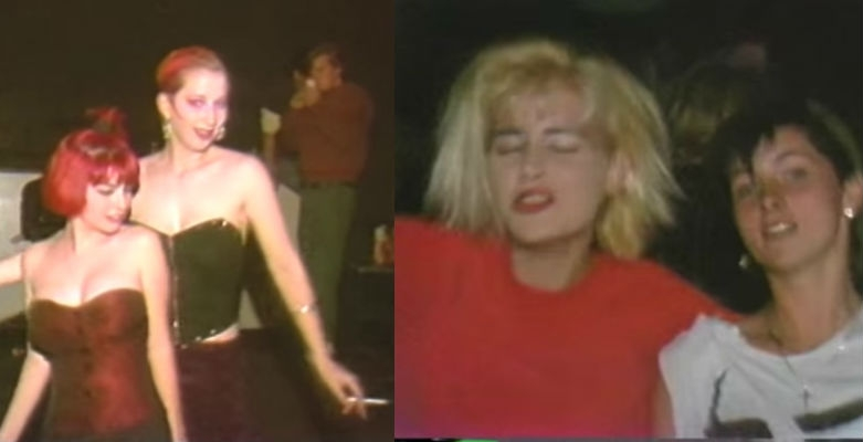 1980s footage from a California new wave synthpop club is mesmerizing and awesome