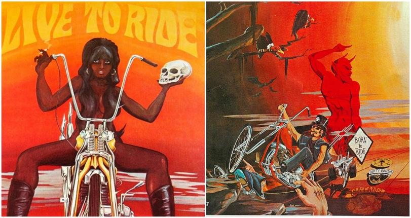 Badass bikers, drugs, and hot chicks: The outlaw biker art of David Mann