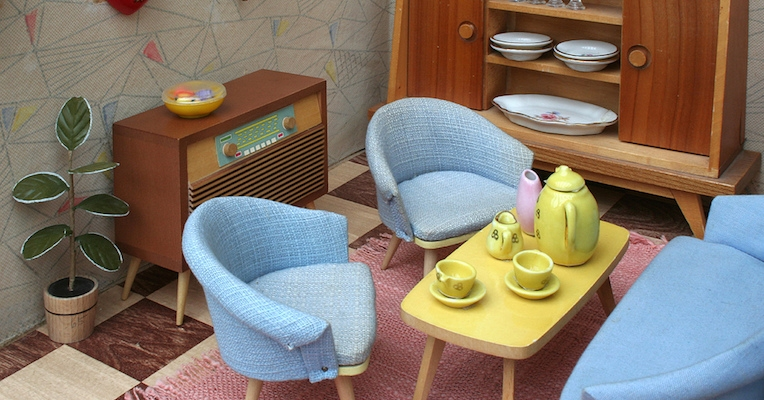 Cold War dollhouses from the Socialist paradise of East Germany