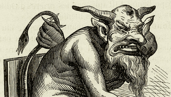 Evil Demons, Devils & Imps from 'The Infernal Dictionary'