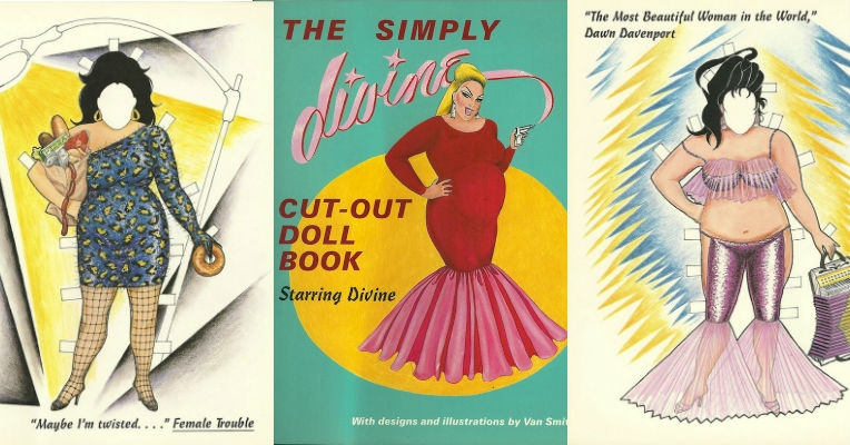 Behold the wonders of 'The Simply Divine Cut-Out Doll Book'