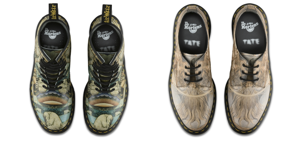 William Blake Doc Martens are a thing