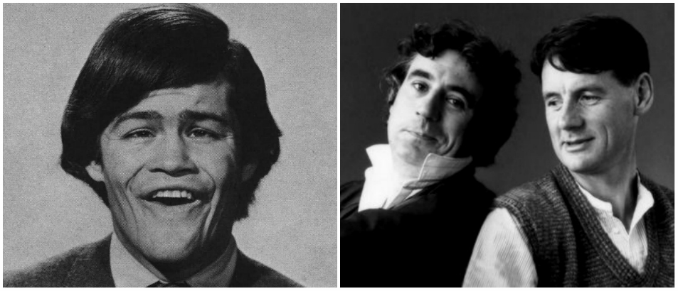Monkee Python: Micky Dolenz directs Michael Palin and Terry Jones in 'The Box'