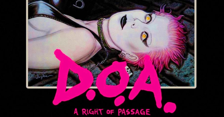 Crucial punk doc 'DOA: A Right of Passage' FINALLY restored for a hi-def DVD release