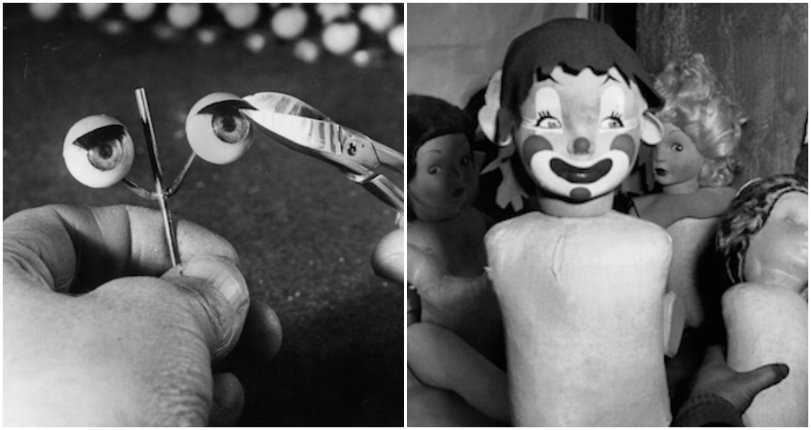 Doll parts: A terrifying glimpse inside doll-making factories from around the world