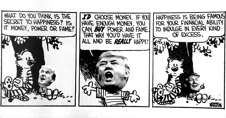 Donald Trump meets 'Calvin and Hobbes'