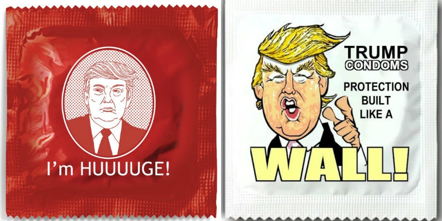 There are Donald Trump condoms… for when you're getting screwed
