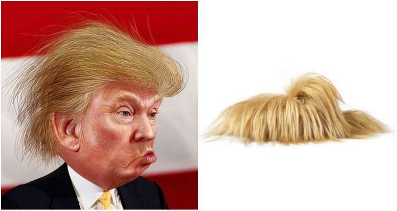 Trump your feet: Shoes that look like the Donald's hairdo