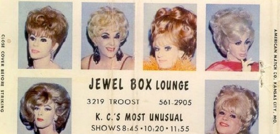 Absolutely fabulous vintage drag and gay nightclub matchbook covers