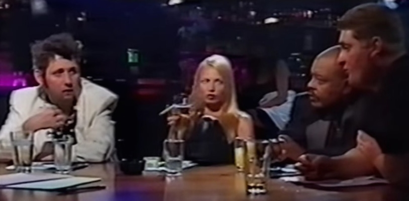 Traci Lords & Johnny Depp guest star on the ill-fated talk show pilot 'A Drink with Shane MacGowan'
