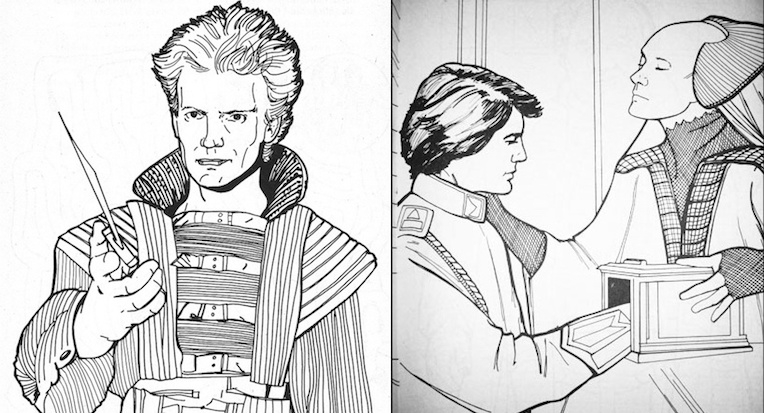 These odd 'Dune' coloring books adapted from the David Lynch film are 'brilliantly disgusting'