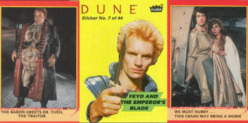 Wild and inscrutable 'Dune' trading cards