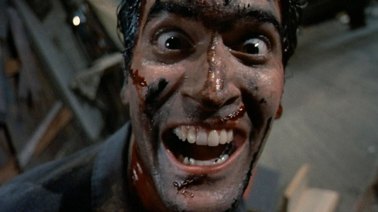 Groovy photos of Bruce Campbell, Sam Raimi & more on the set of all three 'Evil Dead' films