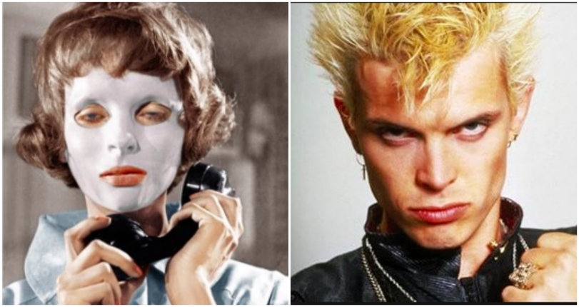 The horror film that inspired Billy Idol's 'Eyes Without a Face' & how he almost lost his eyeballs