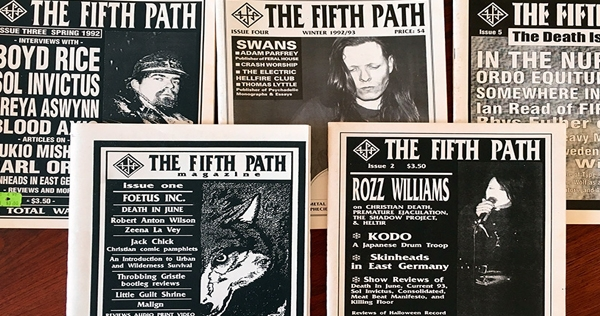 Entire print run of crucial post-industrial/apocalyptic folk magazine 'The Fifth Path' is now online