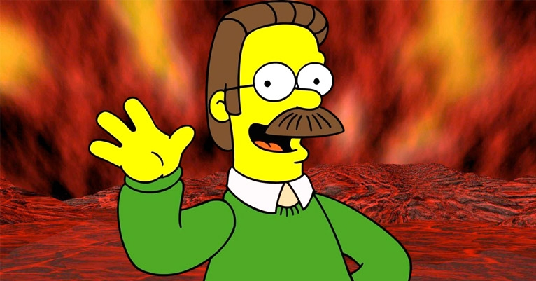 Heavy Ned-al: there's a Ned Flanders themed metal band called Okilly Dokilly