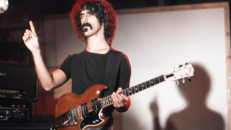 That time Frank Zappa invented 'The Wave' in 1969