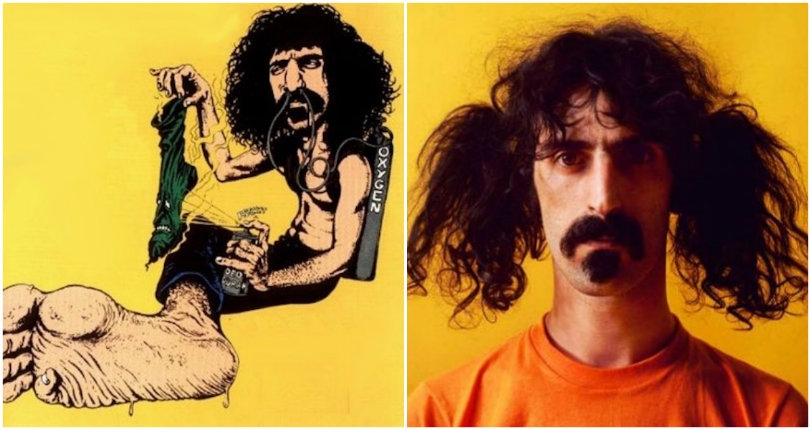 Freaky French comic from the 70s that tells the far-out story of Frank Zappa's 'Stink-Foot'