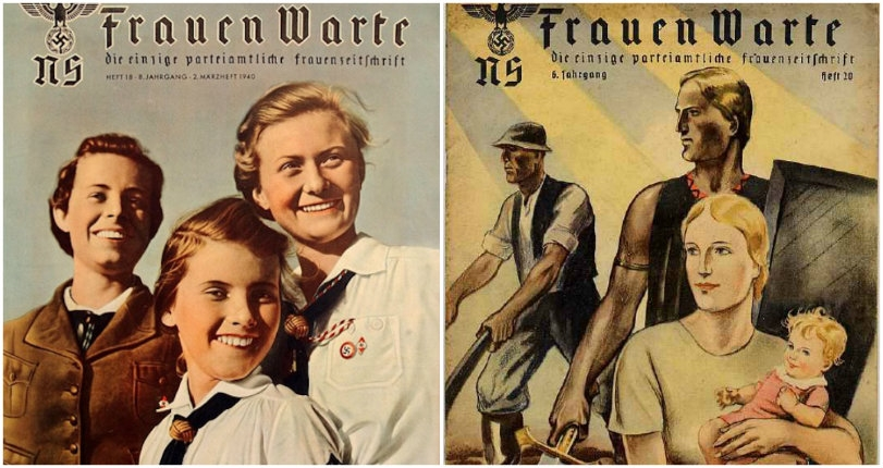 The Reich Stuff: The grim Nazi propaganda magazine aimed at women