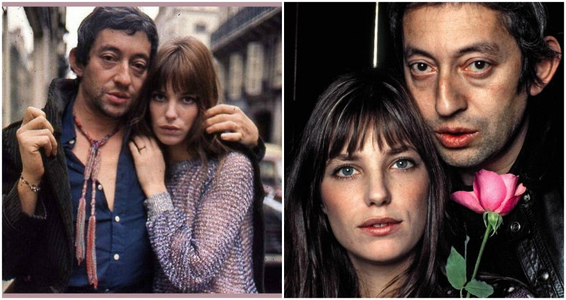 Je T'Aime: Cool photos of Jane Birkin and Serge Gainsbourg when they were in love