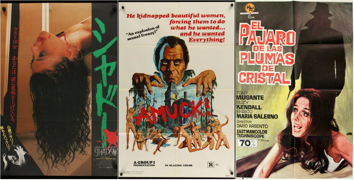 Experience ultra violent Italian sex, shock & murder In the privacy of your own home with HD Giallo