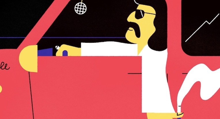 Charming animation about Giorgio Moroder's lean years before he became the king of disco