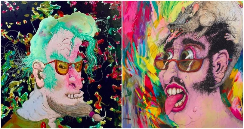 The surreal psychedelic art of Giovanni Forlino