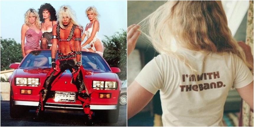 Big hair, boobs, & bikinis: All hail the heavy metal groupies of the 80s (plus a Bon Jovi orgy!)