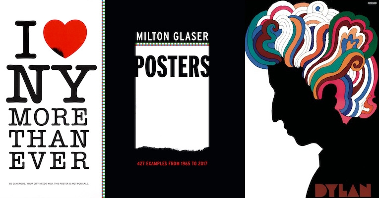 'Milton Glaser Posters: 427 Examples from 1965 to 2017' is a delight