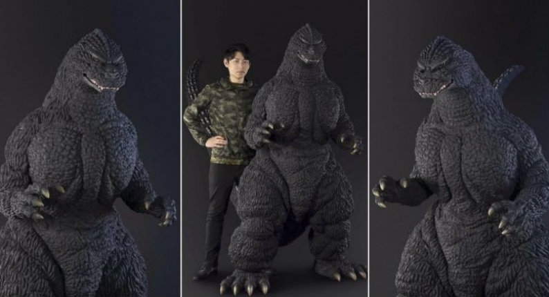 Now you can own a giant six-foot Godzilla statue for only $40K!