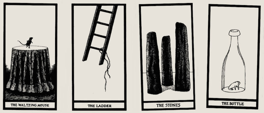 Edward Gorey's 'anxious, irritable' tarot card set is predictably perfect