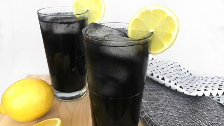 Goth AF black lemonade recipe