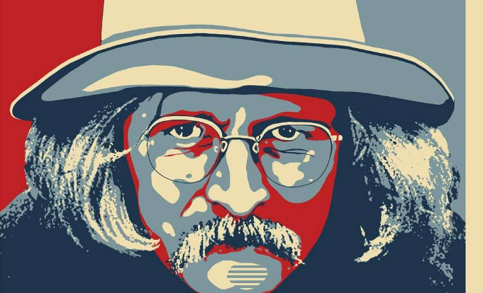 Rarely seen film footage of hippie bard Richard Brautigan