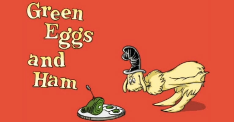 Dr. Seuss and the 50 word 'dare' that inspired 'Green Eggs and Ham'