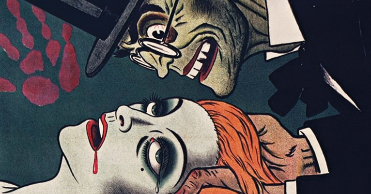 Wonderfully lurid and macabre posters from the Grand Guignol