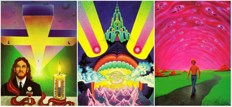 The master of Moorcock: The psychedelic sci-fi book covers and art of Bob Haberfield